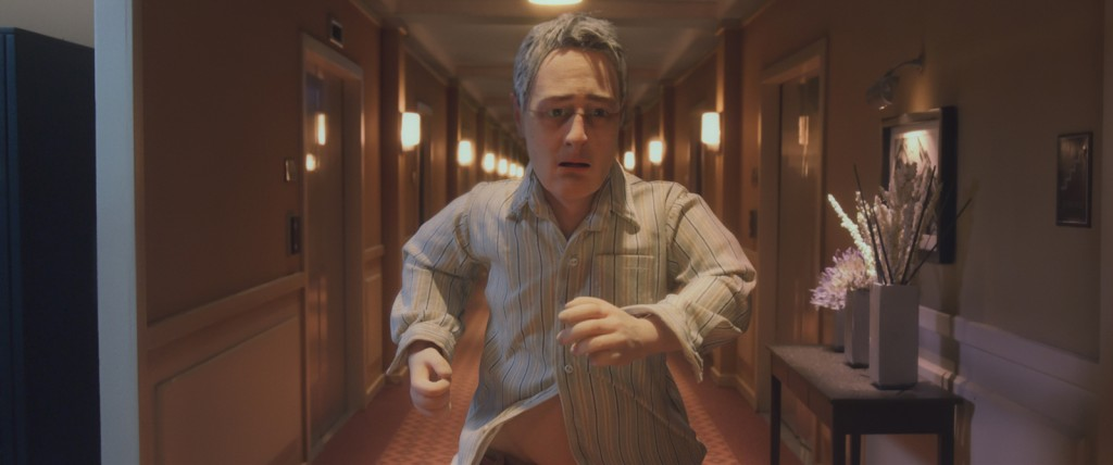 David Thewlis voices Michael Stone in the animated stop-motion film, ANOMALISA, by Paramount Pictures