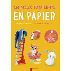 animaux papier
