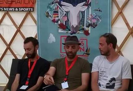 Conférence de presse Chinese Man